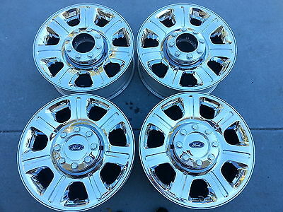 20 CHROME 2013 Ford F250 F-250 F350 SUPER DUTY Factory OEM WHEELS RIMS TIRES