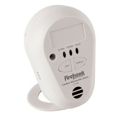 New Firehawk 7yr Long Life Carbon Monoxide Alarm Detector CO7B Lithium Battery