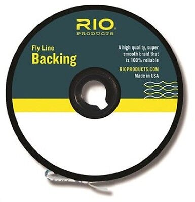 RIO Fly Line Backing 20lb 100yds Orange - Trout Fly Line Backing