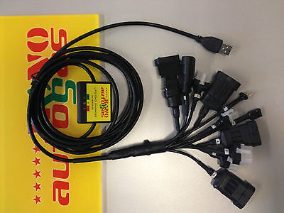 LPG GPL  USB Diagnose Interface Kabel 11x LOVATO ZAVOLI TARTARINI