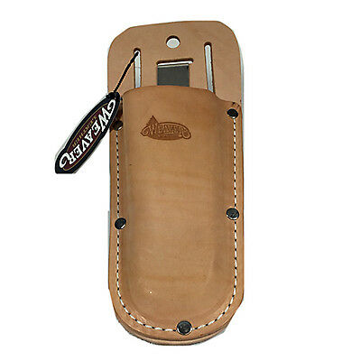 "Weaver Leather Hand Pruner Holster Arborist Clip 08-97200 0897200 Pouch 2"" Slot"