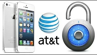 AT&T FACTORY UNLOCK CODE SERVICE iPHONE 5,5C,5S.99% GUARANTEED 12-72 hours