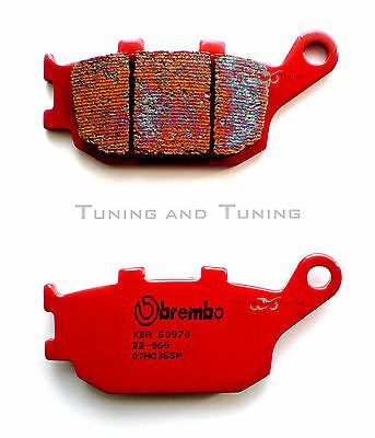 Rear Brake Pads Brembo Sp For Honda Vtr F Firestorm 1000 2001 2002  (07Ho36Sp)