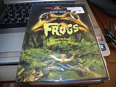 """1970'S Cult Classic {FROGS}(DVD) """"Today the Pond...Tomorrow the World! Brand New"""