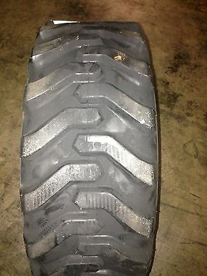 1 NEW 10X16.5 Skid Steer Tire Solideal Grippers 10-16.5    8 ply rating Bobcat