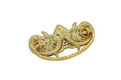 "Victorian Drawer Pulls  Furniture Pull , Sold In Pairs, 3"" Solid Brass"