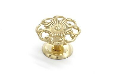"Drawer Knobs Furniture Knob Cabinet Knob Antique Style 1 1/4"" Dia. Solid Brass"