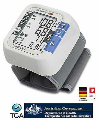 Digital Blood Pressure Monitor Automatic Wrist Style Brand New, Free Postage!