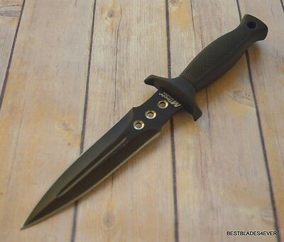 MTECH TACTICAL HUNTING Combat Military FIXED BLADE KNIFE Dagger Bowie w/ SHEATH