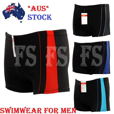 Men's Swimwear Trunks Boxer Swimming Swim Shorts Slim Beach Boxers
