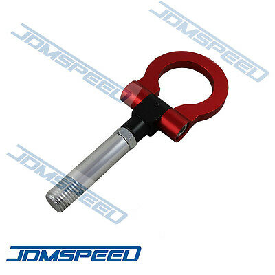 Red Jdm Folding Screw On Type Front Rear Tow Hook For Mazda Cx5 Rx8 Mazdaspeed