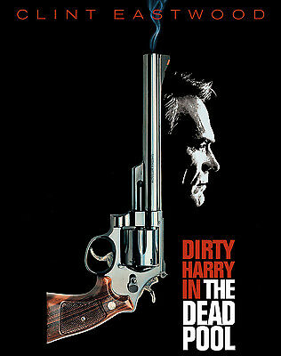 Clint Eastwood Dirty Harry Vintage Movie Giant Poster - A0 A1 A2 A3 A4 Sizes
