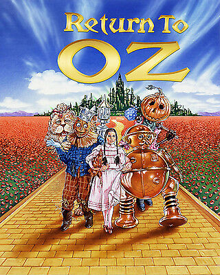 The Wizard of Oz Return to Oz Vintage Movie Giant Poster - A0 A1 A2 A3 A4 Sizes