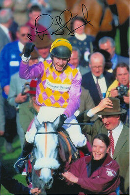 Mick Fitzgerald Call Equiname Hand Signed 6X4 Photo.