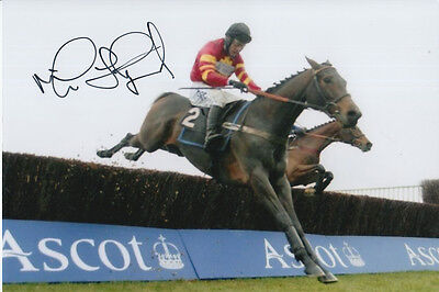 Mick Fitzgerald All Star Hand Signed 6X4 Photo.