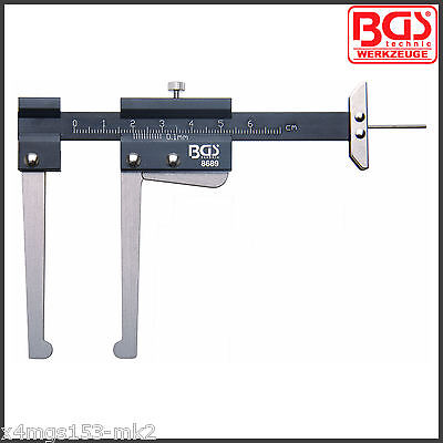 BGS - Vernier Caliper For Brake Discs Max Thickness 60 mm - Pro Range - 8689