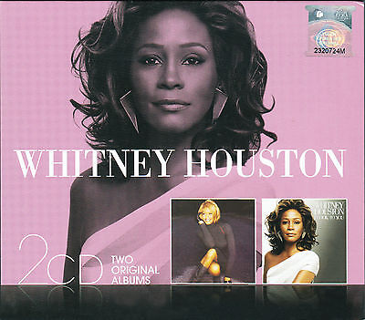 WHITNEY HOUSTON My Love Is Your Love & I Look To You MALAYSIA Edition 2 CD ALBUM