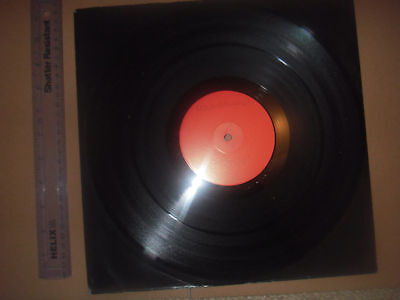 "HOWARD HUGHES Paleface 4-track red WHITE LABEL DJ PROMO 12"" single vinyl record"
