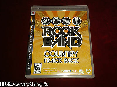 Rock Band: Country Track Pack --- Playstation 3 - PS3 --- No Scratches