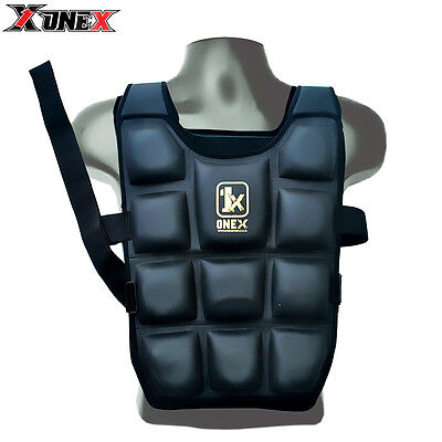 1xx Pro Removable Weighted Jacket 8,10,12,14,20 Kg Weight Vest Loss Gym Running