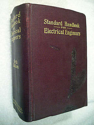 Standard Handbook for Electrical Engineers Sixth Edition 1933 GC Box80-1E