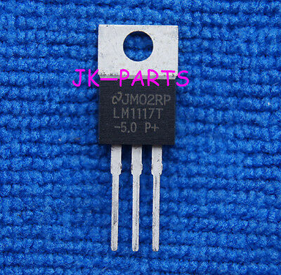 5pcs LM1117T-5.0 LM1117T LD1117 5.0V TO-220