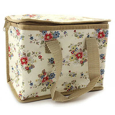 Kids Summer Daisy Floral Flowers School Insulated Cool Lunch Bag Picnic Eco