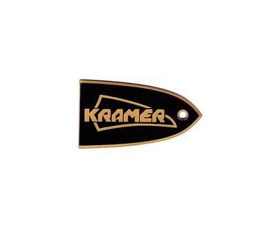 TRUSS ROD COVER name plate for KRAMER GUITAR Special Edition (Black&Gold)