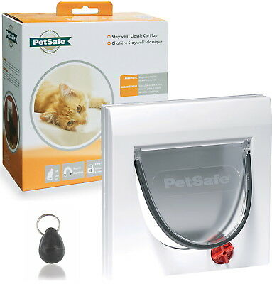 Staywell Petsafe 932 White Magnetic Cat Flap Door And Keys Order Up To 10 Tt