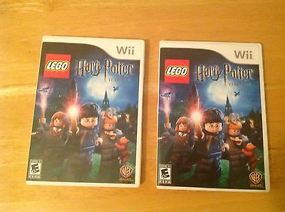 LEGO Harry Potter: Years 1-4  (Nintendo Wii, 2010) COMPLETE Disc, Case & Manual