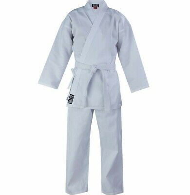 Blitz Adult Polycotton Karate Suit/Gi with FREE BELT size 160-210
