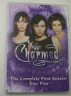 Charmed The Complete First Season Disc Five 5 Replacement Disc FREE SHIPPING