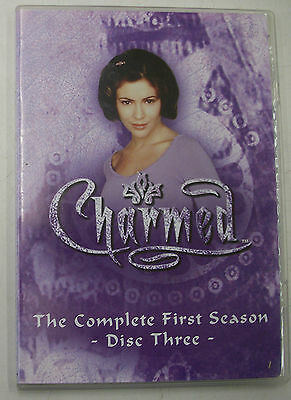 Charmed The Complete First Season Disc Three 3 Replacement Disc FREE SHIPPING