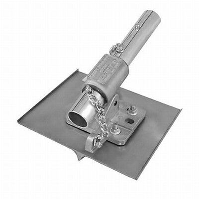 "Kraft Tool Walking Concrete Groover Stainless Steel w/EZ-Tilt Bracket 3/4"" Bit"