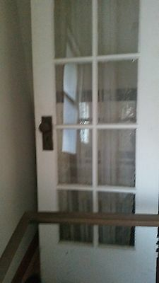 White Antique French Doors Set