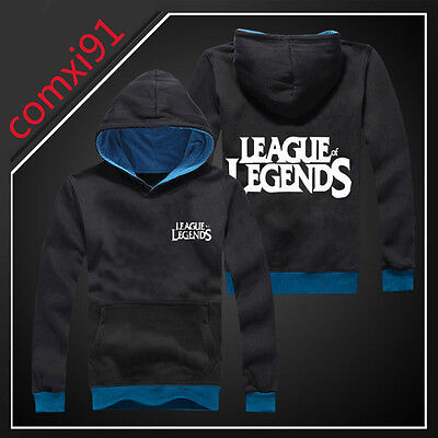 New Hot LOL League of Legends Casual Clothing Hooded Sweatshirt Cosplay Hoodie
