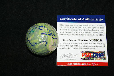 Larry the Cable Guy signed personal golf ball, Mater, Cars, Git-R-Done, PSA/DNA