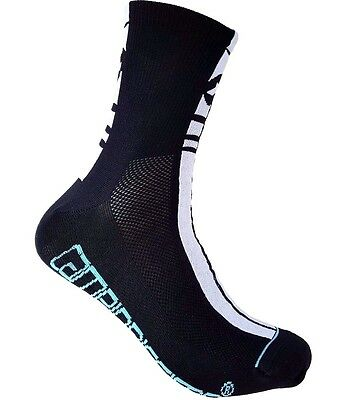 Cycling Socks ASSOS MILLE Black US 9.5-12 EU 43-46 Made In Italy