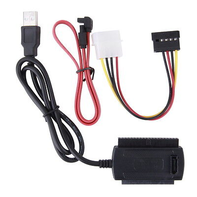 SATA/PATA/IDE Drive to USB 2.0 Adapter Converter Cable for 2.5 / 3.5 OK