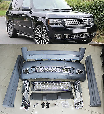 Range Rover Vogue 02-13 L322 Autobiography Body Kit, Front/rear Bumpers