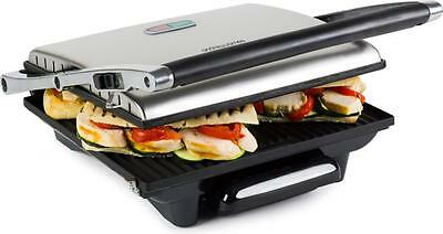 Andrew James Large Sandwich Press Contact Panini Maker Health Lean Low Fat Grill