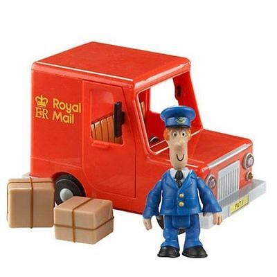 Postman Pat FREE WHEELING VAN - With Figure & Parcels - NEW