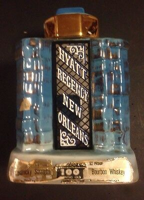 1975 JIM BEAM HYATT REGENCY NEW ORLEANS DECANTER