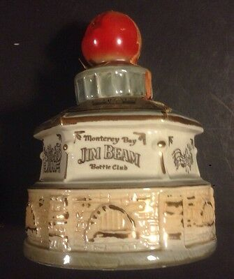 JIM BEAM MONTEREY BAY, CALIFORNIA - BANDSTAND 1977 DECANTER  Regal China