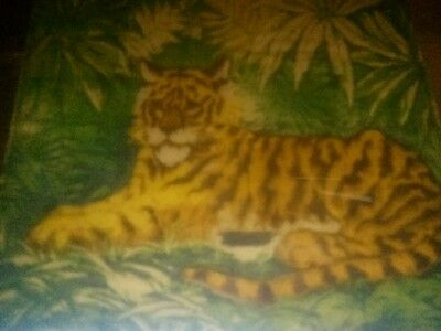 Antique  Tiger Carriage/Buggy Blanket