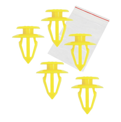 10 X Door Card Trim Panel Clips for Seat Alhambra, Cordoba, Ibiza  - 9mm hole