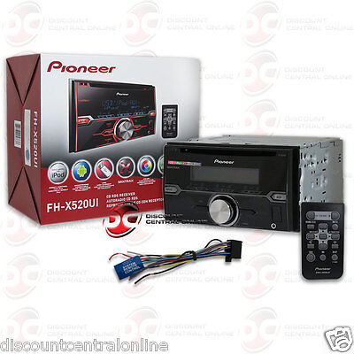 PIONEER DOUBLE DIN CAR STEREO MP3 CD PLAYER USB AUX-IN PANDORA CONTROL + REMOTE
