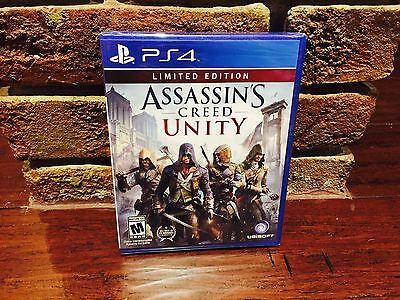 Assassin's Creed: Unity PS4 - Fast Shipping! *NEW/SEALED*