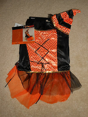 New by Begood Spellhound Halloween Witch Costume for Dogs