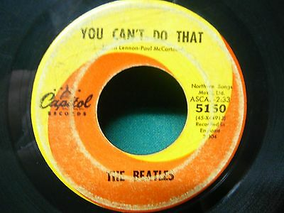 The Beatles: Can't Buy Me Love / You Can't Do That - Capitol 5150 (1964, 45rpm)